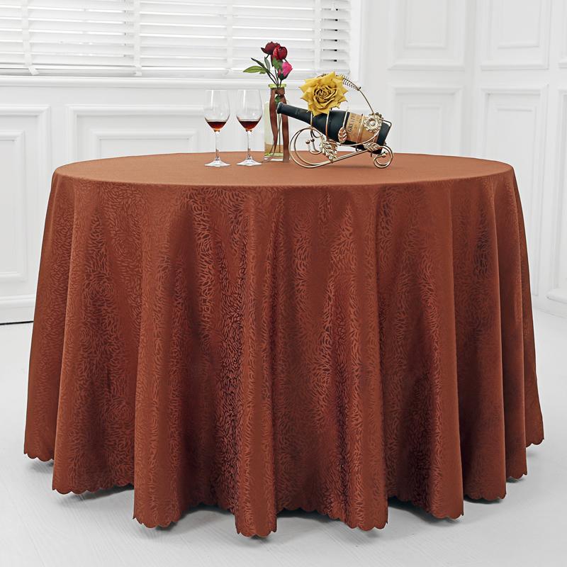 欧式宫廷提花桌布圆形方形